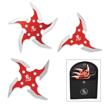 Picture of Circulus Mortem 3-Piece Throwing Star Set