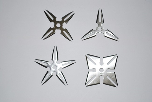 Picture of Forked Spears Ninja Throwing Star Set